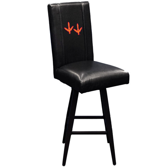 Swivel Bar Stool 2000 with Virginia Tech Hokies Feet Logo