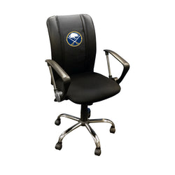 Curve Task Chair with Buffalo Sabres Logo
