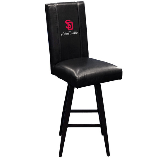 Swivel Bar Stool 2000 with South Dakota Coyotes Logo