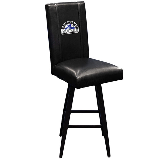 Swivel Bar Stool 2000 with Colorado Rockies Logo