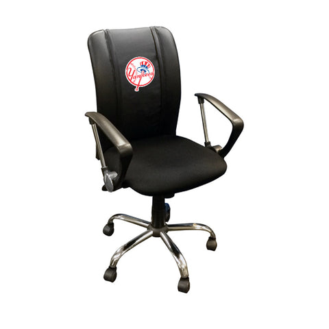 Curve Task Chair with New York Yankees Secondary