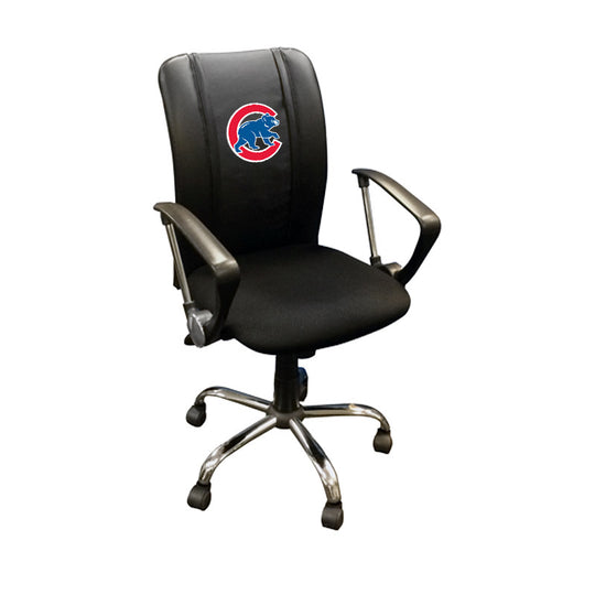 Curve Task Chair with Chicago Cubs Secondary
