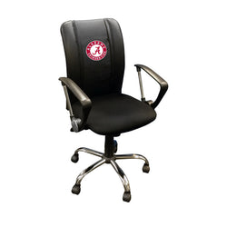 Curve Task Chair with Alabama Crimson Tide Logo