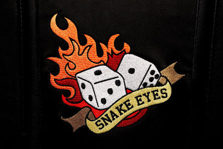 Snake Eyes Dice Logo Panel Zipchair