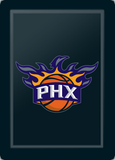 Silver Sofa with Phoenix Suns Secondary