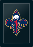 Side Chair 2000 with New Orleans Pelicans Secondary