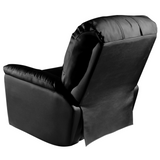 Rocker Recliner with Detroit Tigers Orange Logo