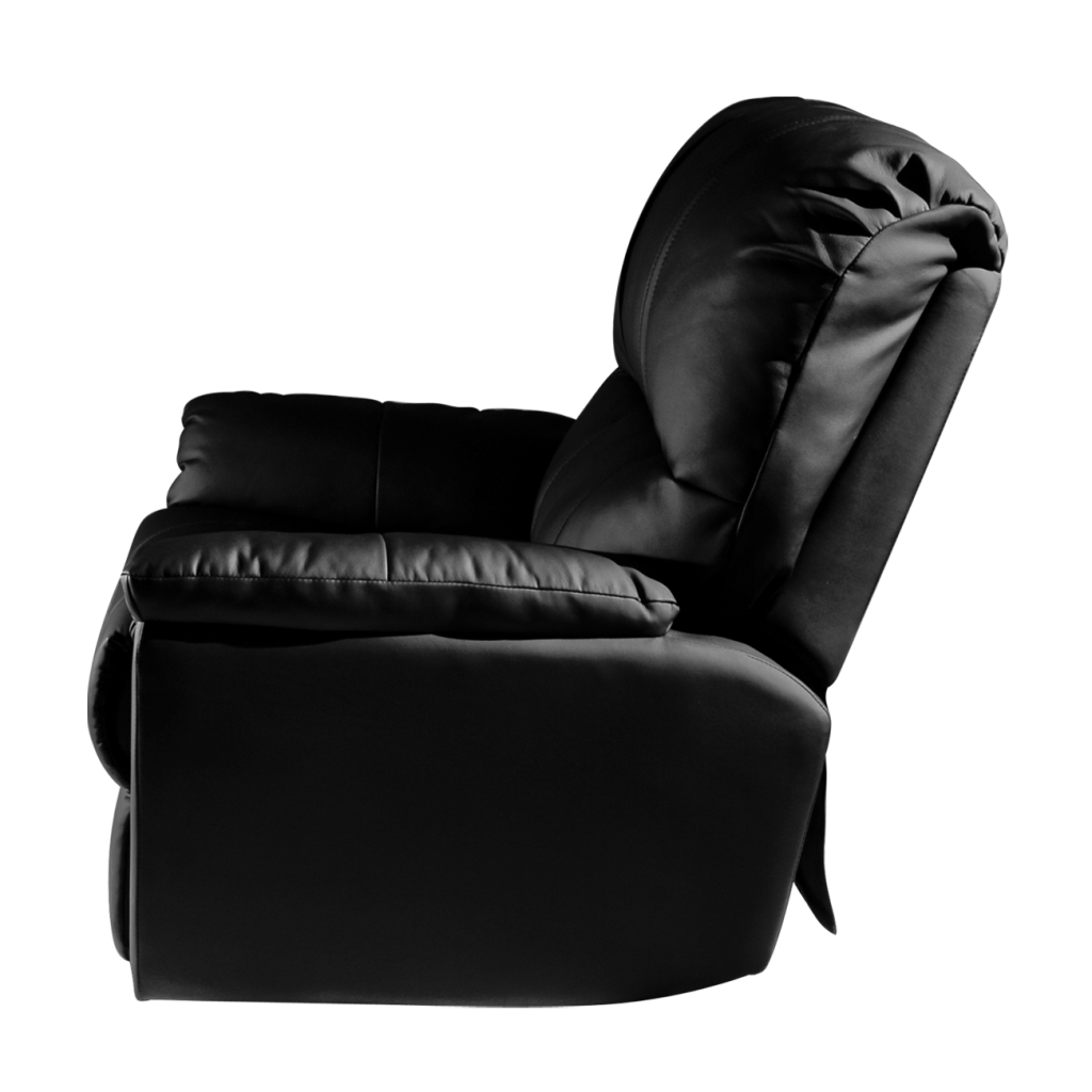 Rocker Recliner with  New Orleans Saints Helmet Logo