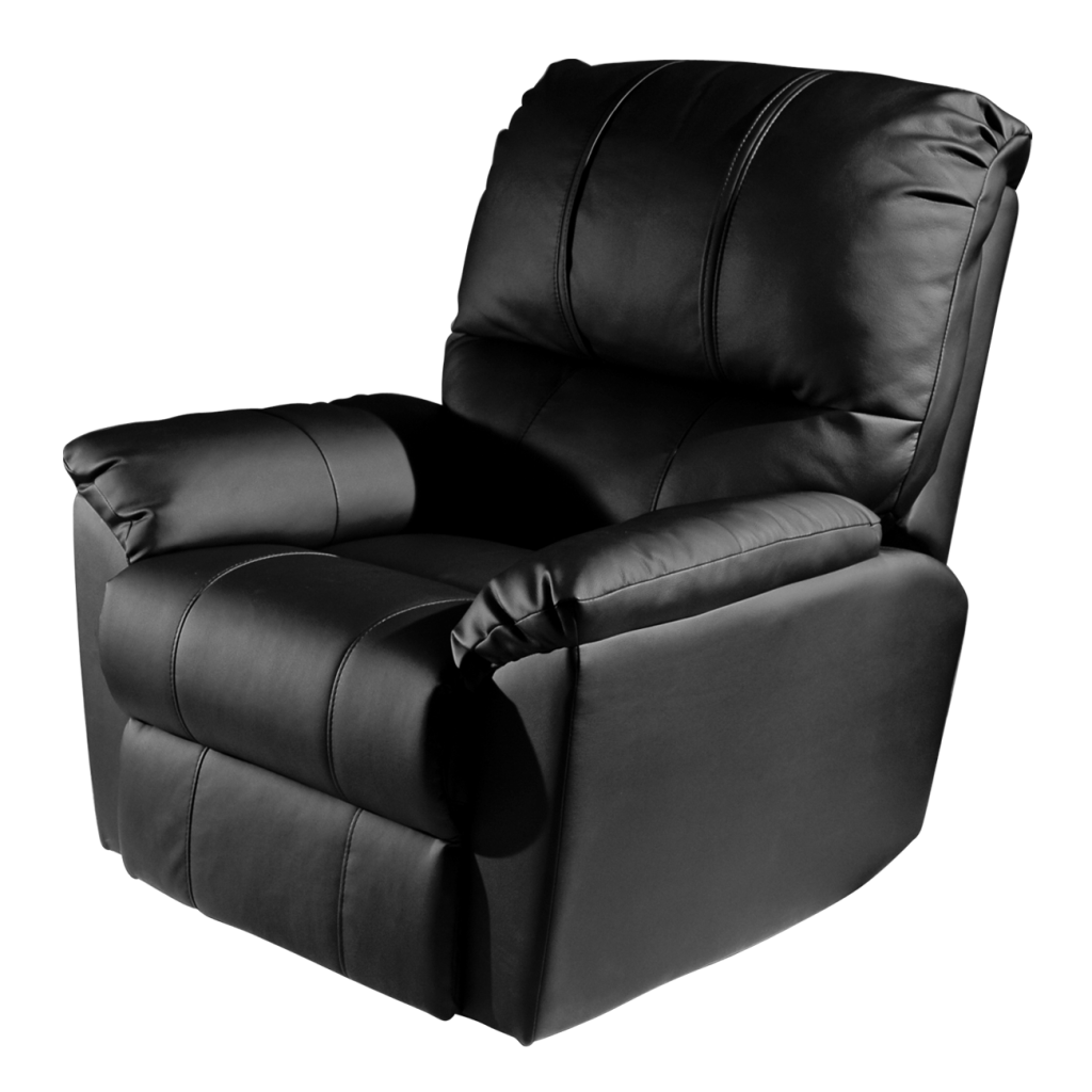 Rocker Recliner with  Los Angeles Chargers Helmet Logo