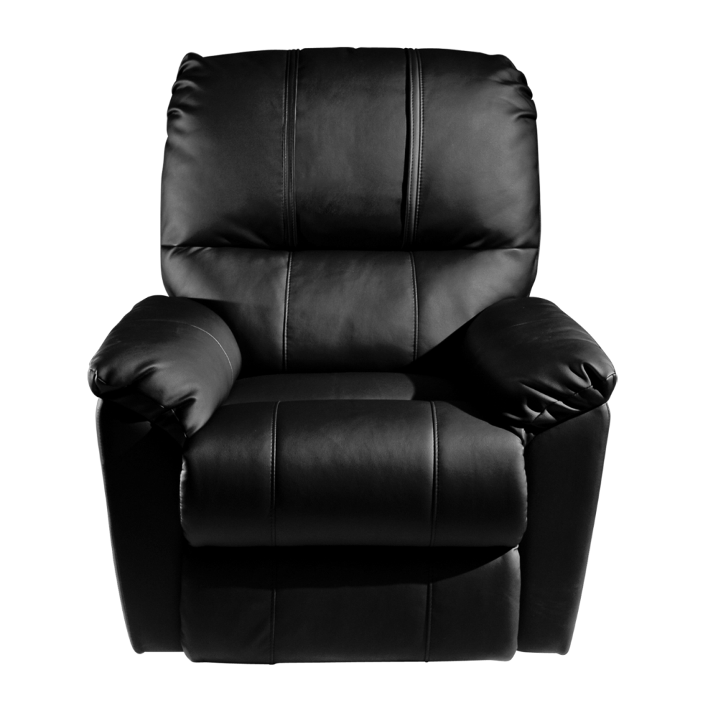 Rocker Recliner with  Seattle Seahawks Helmet Logo