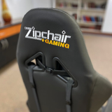 Xpression Gaming Chair with Spooky Pumpkin Patch Logo