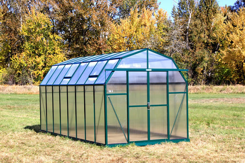 Grandio Elite Greenhouse ELITE-16 8x16 Basic Kit - Green Thumb Houses