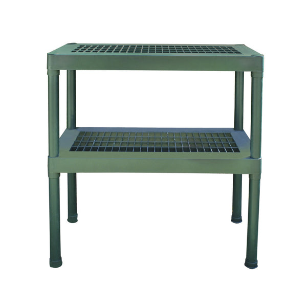 Palram Two Tier Staging Work Bench HG2002 - Green Thumb Houses