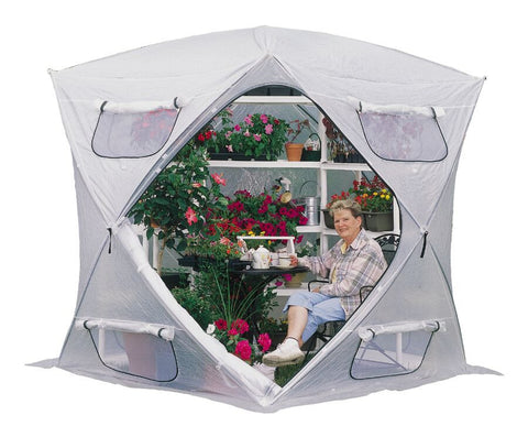 Flowerhouse Bloomhouse Portable Greenhouse FHBH600 7x7 - Green Thumb Houses