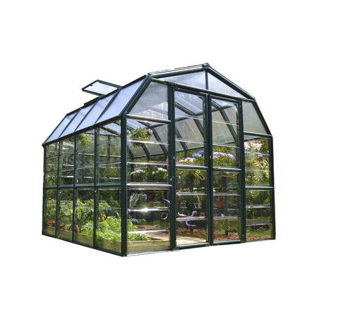 Rion Grand Gardener HG7208C Greenhouse 8x8, 8x12, 8x16, 8x20 Clear - Green Thumb Houses