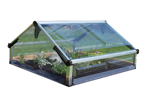 Palram Cold Frame-Double Greenhouse 3x3 - Green Thumb Houses