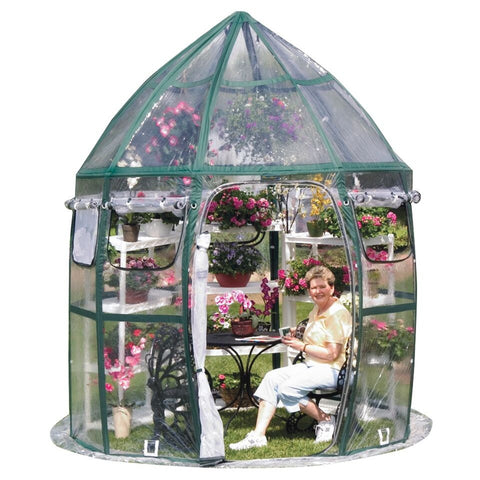 Flowerhouse Conservatory Greenhouse FHCV900 - Green Thumb Houses