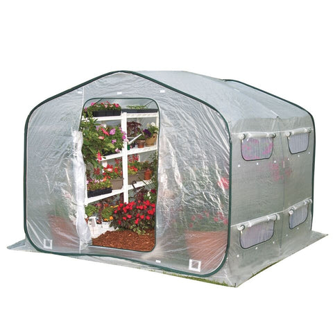 Flowerhouse Dreamhouse Greenhouse FHDH500 8x8x6.5 - Green Thumb Houses