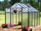 Monticello Mojave Greenhouse Black Mont-12-BK-MOJAVE 8x12, 8x16, 8x20, 8x24 - Green Thumb Houses