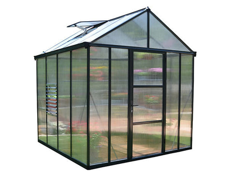 Palram Glory Hobby Greenhouse 8x8, 8x12, 8x16, or 8x20 - Green Thumb Houses