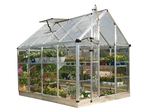 Snap and Grow Hobby Greenhouse HG8008 8x8, 8x12, 8x16, 8x20 - Green Thumb Houses