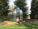 Grandio Element Greenhouse ELEMENT-64-PR 6x4 Premium Kit - Green Thumb Houses