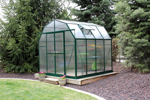 Grandio Elite Greenhouse ELITE-8 8x8 Basic Kit - Green Thumb Houses