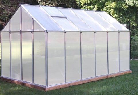 Monticello Growers Greenhouse MONT-12-AL-GROWERS 8x12, 8x16 - Green Thumb Houses