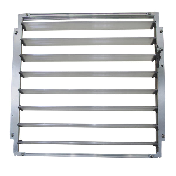 Palram Side Louver Window HG1026 - Green Thumb Houses