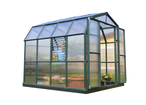 Palram Prestige 2 Twin Walled Greenhouse HG7308 8x8, 8x12, 8x16, 8x20 - Green Thumb Houses