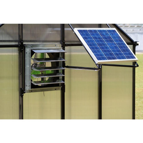 Monticello Solar Powered Ventilation System MONT-SOLAR - Green Thumb Houses