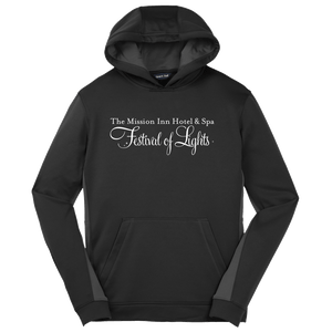 Festival of Lights Hoodie - Black/Grey
