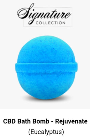 cbdMD Rejuvenate Bath Bomb-100mg