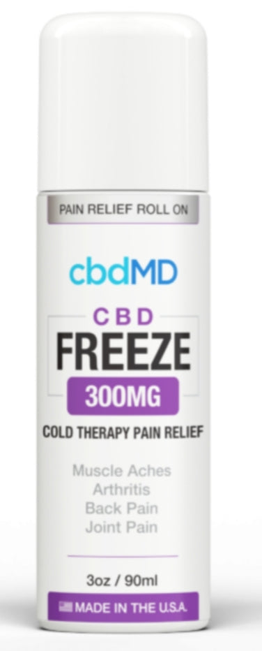 CBD Freeze Pain Relief 3oz Roller 300mg