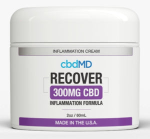 cbdMD 2oz Inflammation Cream-300mg