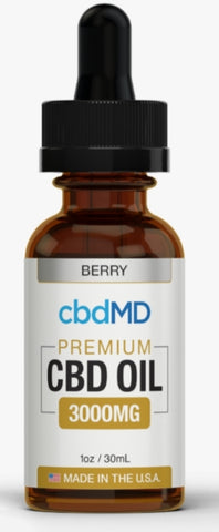 CBD MD Oil - 3000 mg