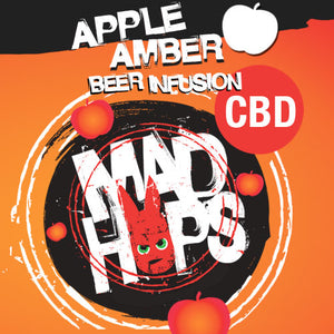 Mad Hops - Beer Infusion CBD - Apple Amber