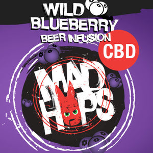 Mad Hops - Beer Infusion CBD - Wild Blueberry