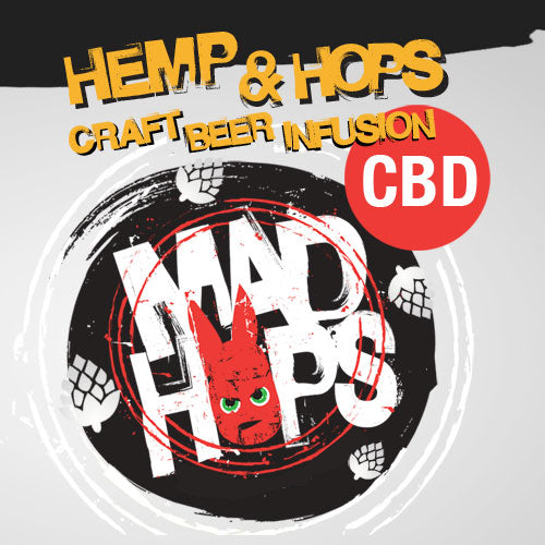 Mad Hops - Craft Beer Infusion CBD - Hemp & Hops