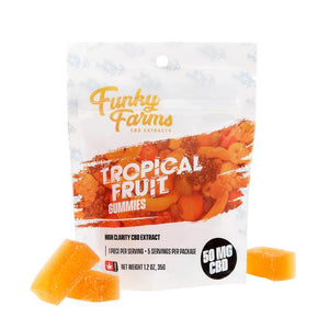 Funky Farms Gummies - Tropical Fruit 50mg