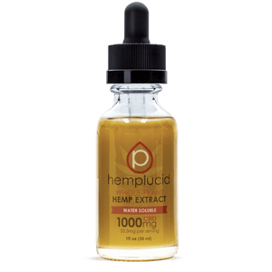 Hemplucid Water Soluble Tincture Oil Drops-1000mg