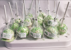 Earth Florida CBD Infused White Chocolate Cake Pops