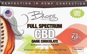 CBD Dark Chocolate 250 mg