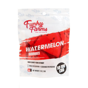 Funky Farms - Watermelon Gummies 50mg