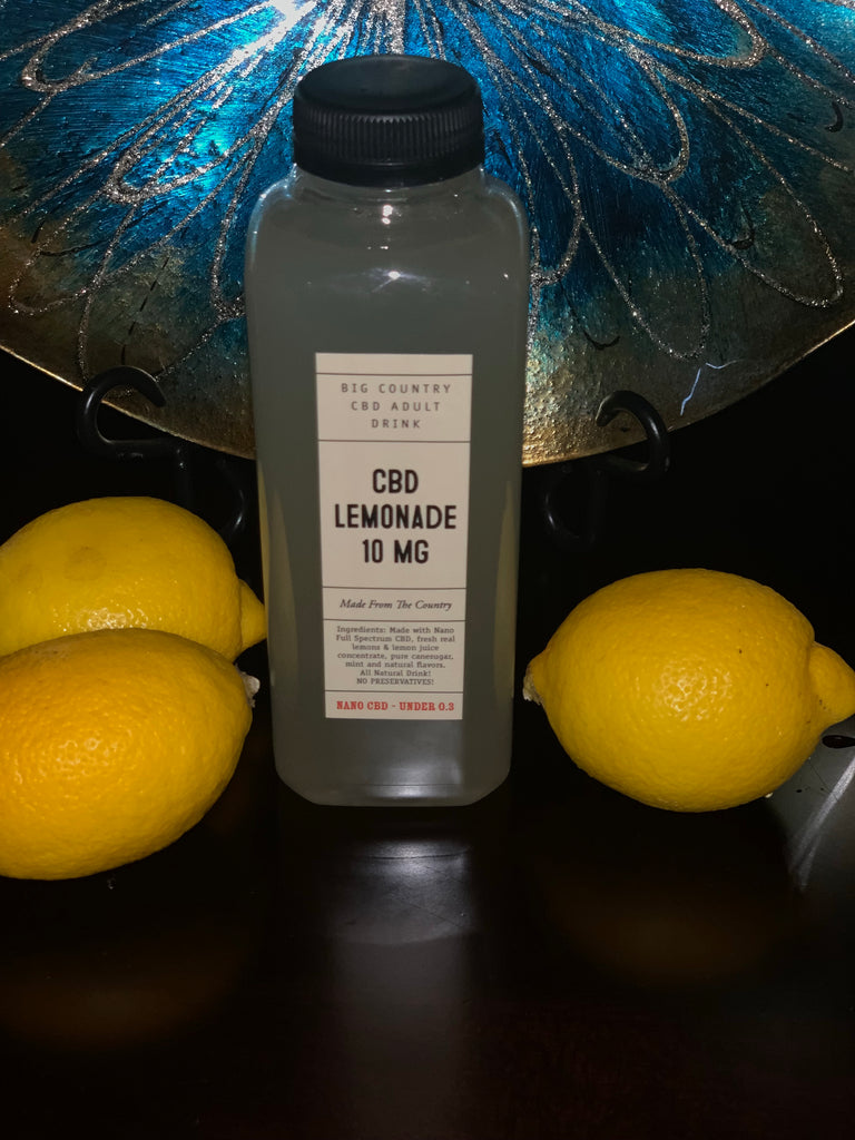 BG - Lemonade - 10mg of Full Spectrum CBD Drink