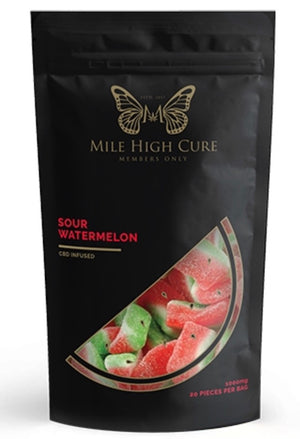 Mile High Cure - 1000 mg Gummies