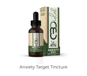 CB Dailed | Anxiety | Target Tincture | 500mg