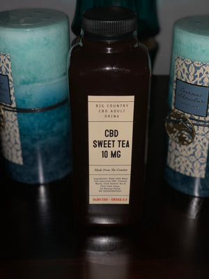 BG - Sweet Tea - 10mg of Full Spectrum CBD Drink
