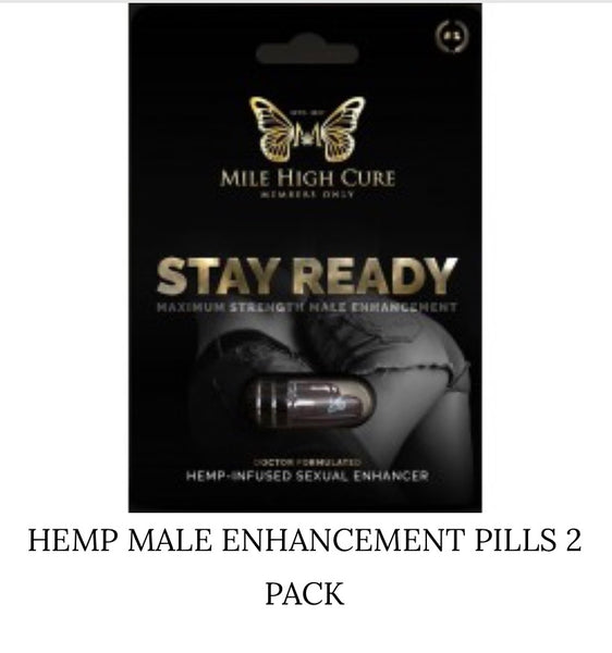 Hemp Male Enhancement Pills 2 Pack