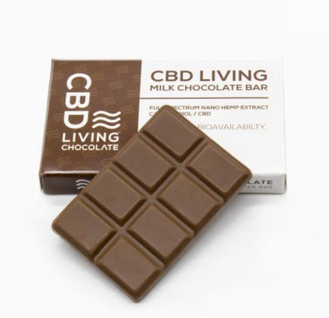 CBD Living Milk Chocolate - 120 MG